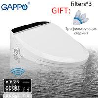 GAPPO Туалет Смарт сиденье унитаз биде мочалка электрические накладки на сидения унитаза мочалка Электрический теплое сиденье для туалета кр