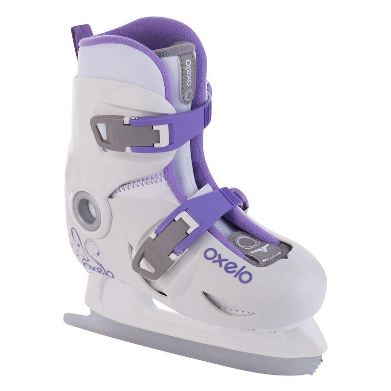 Children Adjustable Ice Blade Skates Shoes Ball Blade Warm Cold Resistance Ice Skating for Beginner Ice