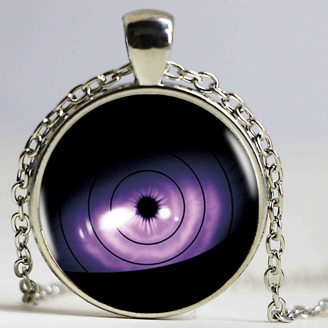 Naruto Sharingan Shippuden Eyes Logo Pendant Necklace