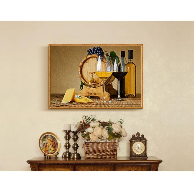 Schon Restaurant Dekoration Malerei Modernen Einfachen Einzigen Europäischen Stil  Zählerkasten Wand Küche Esszimmer Wandmalereien Bar Leinwand Malerei