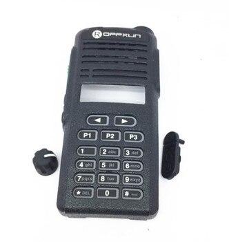 Walkie talkie accesorios shell + clave + mando para motorola CP1660 EP350...