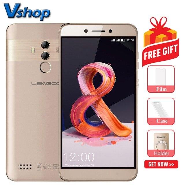 """Оригинальный LEAGOO T8s 4G мобильные телефоны Android 8,1 4G B + 32 ГБ восьмиядерный смартфон Dual задней камерами Face ID 5,5 """"1080 P сотовый телефон"""