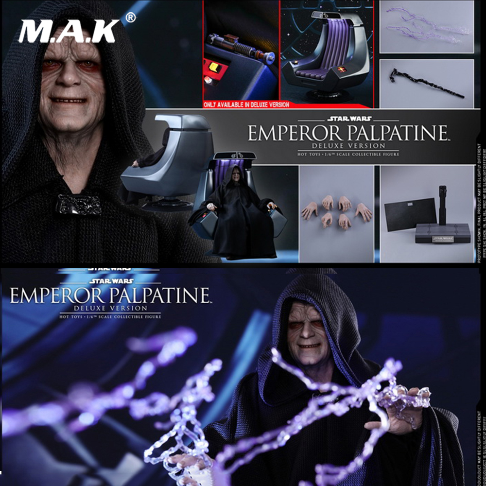 For collection 1/6 MMS467 Star Wars Emperor Palpatine Figure Toy Normal Ver. toy doll Collections сумка emperor mk20380 2014