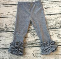 Girls Legging Baby Boutique Clothing Children Beautiful Style Trousers Kids Icing Pants