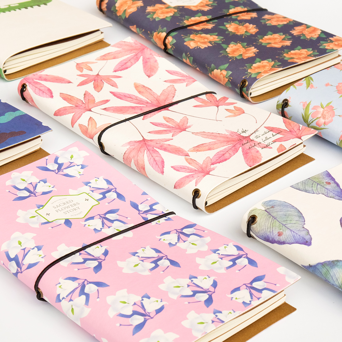 Special Offer CHANGSHI Creative Travel Notebook A6 Belt Notebook Diary Retro Notebook 1PCS
