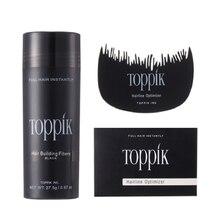 Toppik строительные волокна волос 27,5 г 9 цветов Полный волос Мгновенно Fibras Capilares держать спрей порошок Уход за волосами наборы