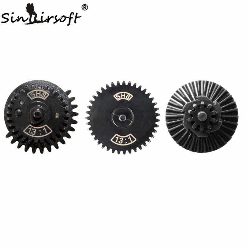 SINAIRSOFT SHS 13:1 Ultra-high Speed Gear Set For Ver.2 / 3 AEG Airsoft Gearbox Shooting Hunting Paintball Gun Accessories