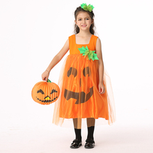 halloween costumes for kids perform clothing show dress suit skirt suit cosplay clothing pumpkin clothes