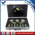 Excavator Hydraulic Pressure Testing Kit, Pressure Test Gauge Coupling, Diagnostic Tool