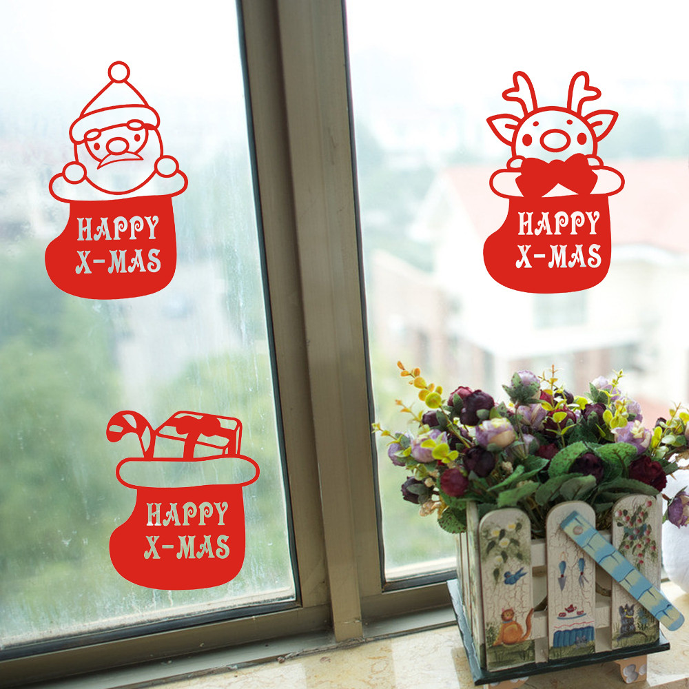 Bathroom furniture sale - Merry Christmas Decoration Wall Stickers Home Decor Party Decoration Christmas Sale Adesivo De Parede Poster Wall Decals Living