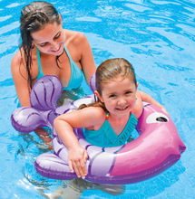 Baby Float Inflatable Swimming Circle Baby Swim Float Swimming Ring Pool Accessories Sleeves Beach Bathing Newborns Neck Float