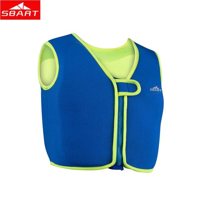 SBART Professional Learn Swim Baby Buoyancy Vest 90%Rubber+10%Nylon Boy Girl's Swimming Buoyancy Vest Kid Water Safety Life Vest
