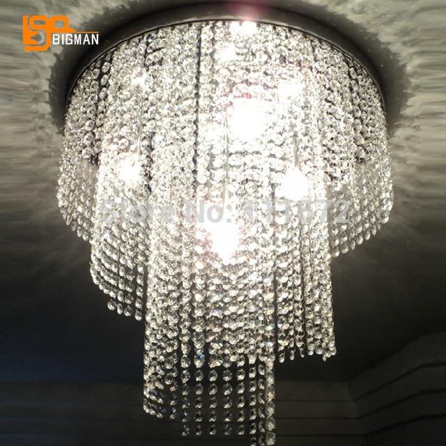aliexpress koop groothandel nieuwe moderne kristallen lamp k9