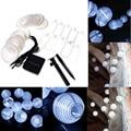 New Arrival LED Solar Lantern String 20LED Solar Powered White Light Outdoor Garden Yard Decor Fairy String Light