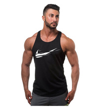 Summer fashion Golds gyms Brand singlet canotte bodybuilding stringer tank top men fitness vests muscle guys sleeveless vest(China)