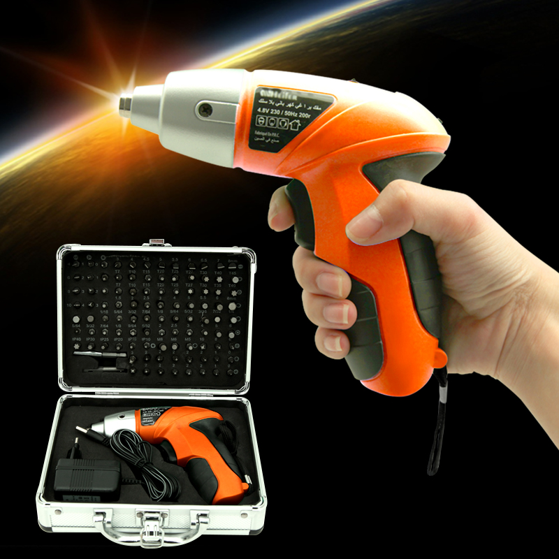 4.8V Cordless Screwdriver Rechargeable Lithium Battery Parafusadeira Furadeira Double Speed Electric screwdriver Power Tools