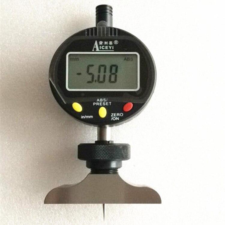 T-type Electronic Digital Depth Indicator Table PCB Board V-CUT Circuit Board V-cut Depth Gauge Depth Gauge