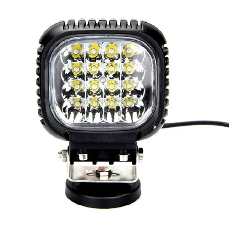 High quality 48W Led Work Light For Auto Car Offroad SUV ATV LED Driving Light Car Working Light 10-30V Fog Work Spot Flood Beam