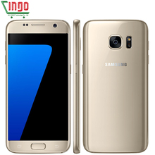 Original Samsung Galaxy S7 Waterproof 5.1inch 4GB RAM 32GB ROM Mobile Phone Quad Core 2.3GHz Android 6.0 12MP Lte