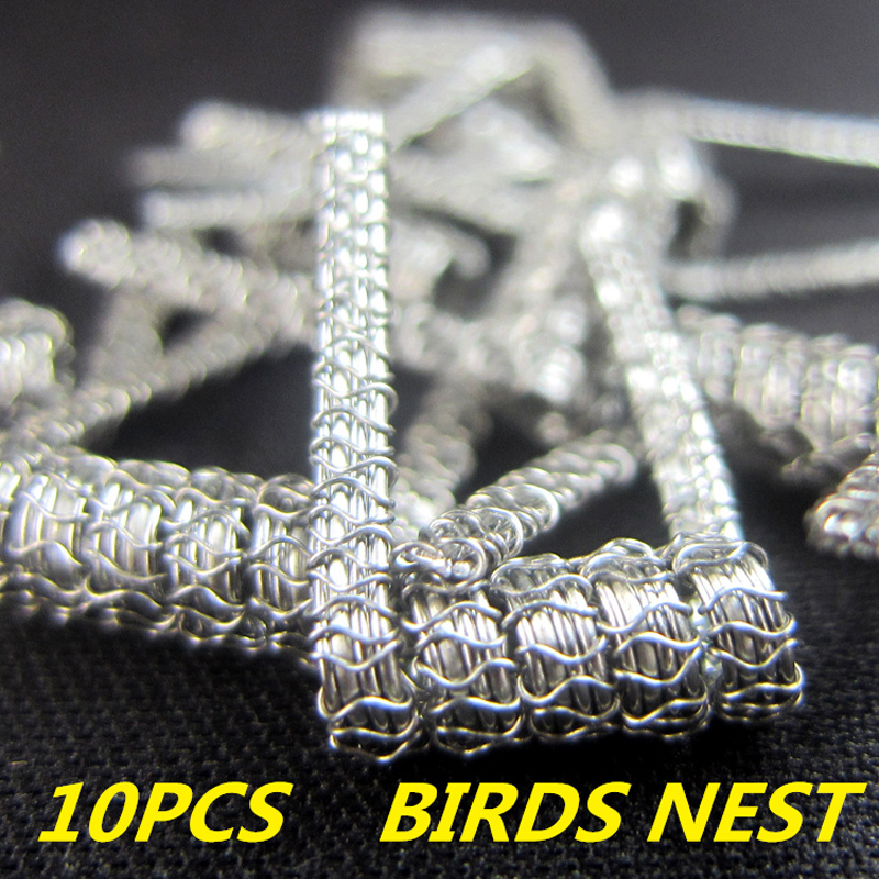 Original SEA WOLF BIRD`S NEST COIL Pre-build Heating Wire 24GA*3 parallel+26GA+32GA/0.2ohm For DIY RDA Atomizer vape