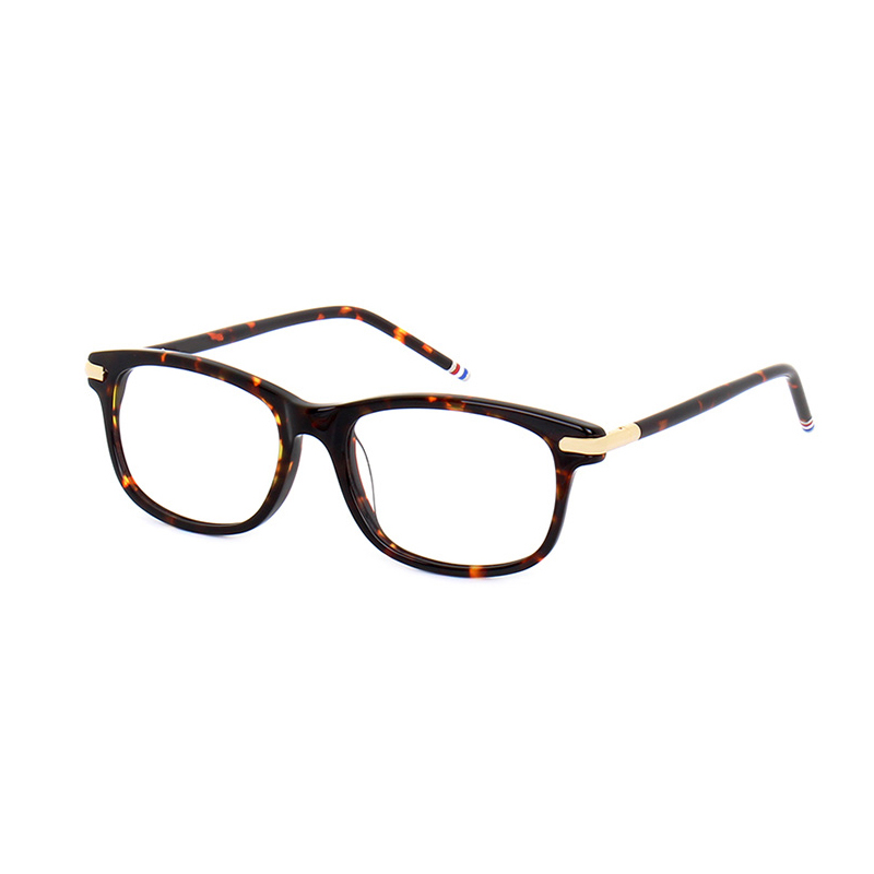 New York Square Computer Glasses Frames Men Women High Quality Computer Reading Eyeglasses Myopia Eyewear With Original Case image