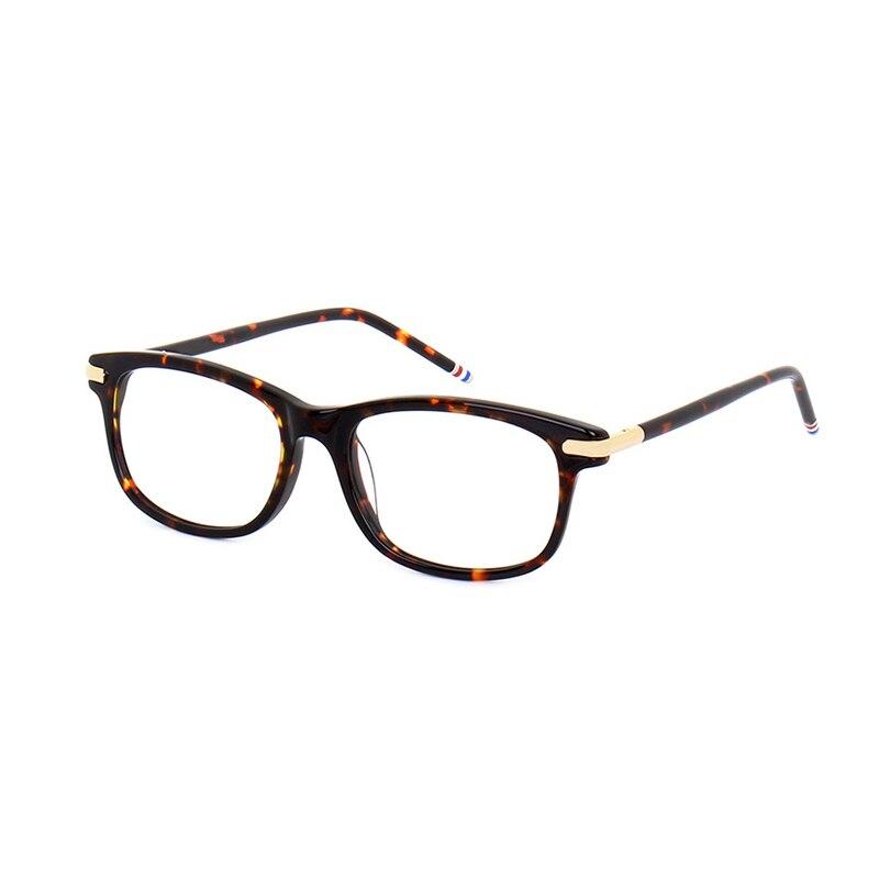 New York Square Computer Glasses Frames Men Women High Quality Computer Reading Eyeglasses Myopia Eyewear With Original Case