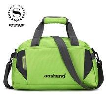Scione женские спортивные сумки через плечо, мужские дорожные чемоданы, модные повседневные сумки для фитнеса, новая сумка для отдыха на открытом воздухе