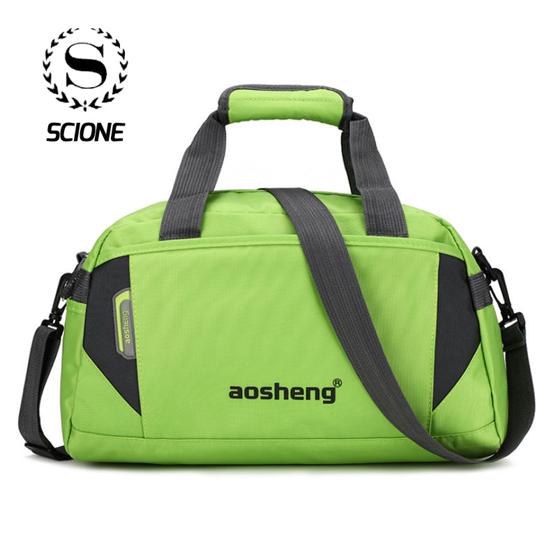 Scione Women Sports Crossbody Bags Men Travel Suitcase Fashion Casual Fitness Luggage Handbag New Leisure Outdoor Shoulder Bag
