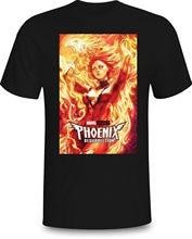 The Dark Jean Grey Phoenix Xmen T-shirt Marvel Comics Black Navy Men S-3XL T Shirt Unisex More Size and Colors Top Tee цена 2017