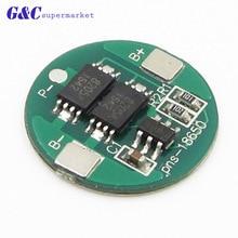 5 шт. 1S 4A BMS 18650 батарея 4,2 V Плата защиты аккумулятора 18650 литиевая плата для зарядки и разрядки двойной МОП