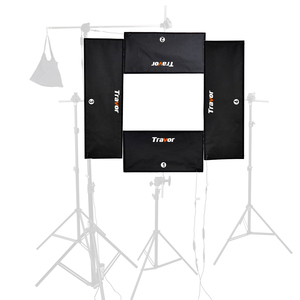 Image 2 - Travor 4 in 1 Headshot LED studio light 100W 5500K CRI95 video light with 2.4G Wireless Remote control photography lighting
