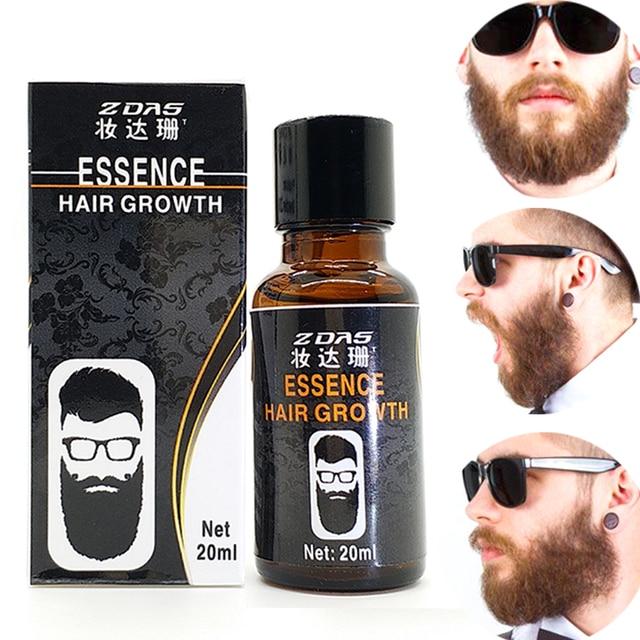 3pcs Beard Growth Oil For Men Leg Hair Pubic Chest Mustache Thicker