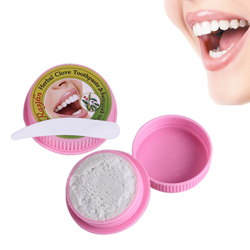 25g Herb Natural Herbal Clove Toothpaste Tooth Whitening Dentifrice Remove Stain Antibacterial Allergic ToothPaste #1062