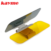 kayme hd car sun visor goggles for driver day & night anti-dazzle interior mirror sun visors car Clear View Dazzling Goggles