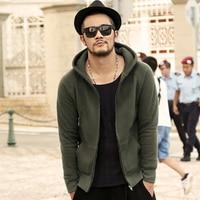 2017 Winter Fashion Men Hoodies Brand Cotton Fleece Mens Hoodies And Sweatshirts Hip Hop Slim Casual