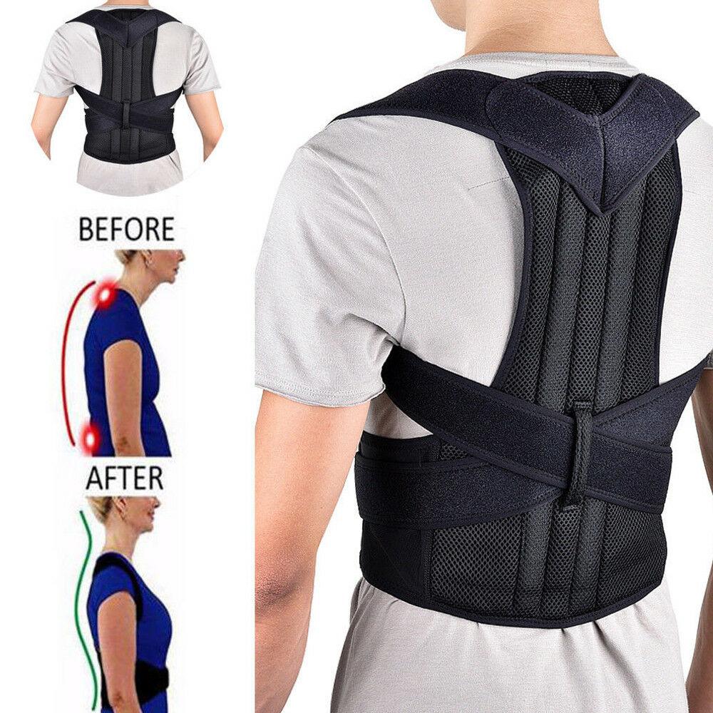Adjustable Back Brace Support Belt Adjustable Posture Corrector Clavicle Spine Back Shoulder Lumbar Posture Correction Dropship