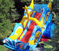 (China Guangzhou) manufacturers selling inflatable slides, inflatable castles, inflatable toys YL-18