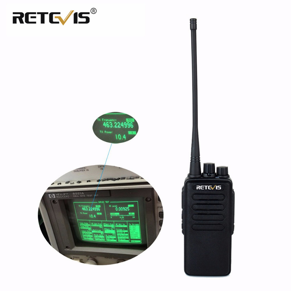10W Professional Walkie Talkie Retevis RT1 VHF or UHF 16CH 3000mAh Battery VOX Scan Scrambler 1750Hz