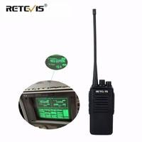 מכשיר הקשר 10W מקצועי מכשיר הקשר Retevis RT1 VHF (UHF) 16CH 3000mAh סוללה VOX סריקה מערבל 1750Hz Tone 2 אנטנה ווקי טוקי (1)
