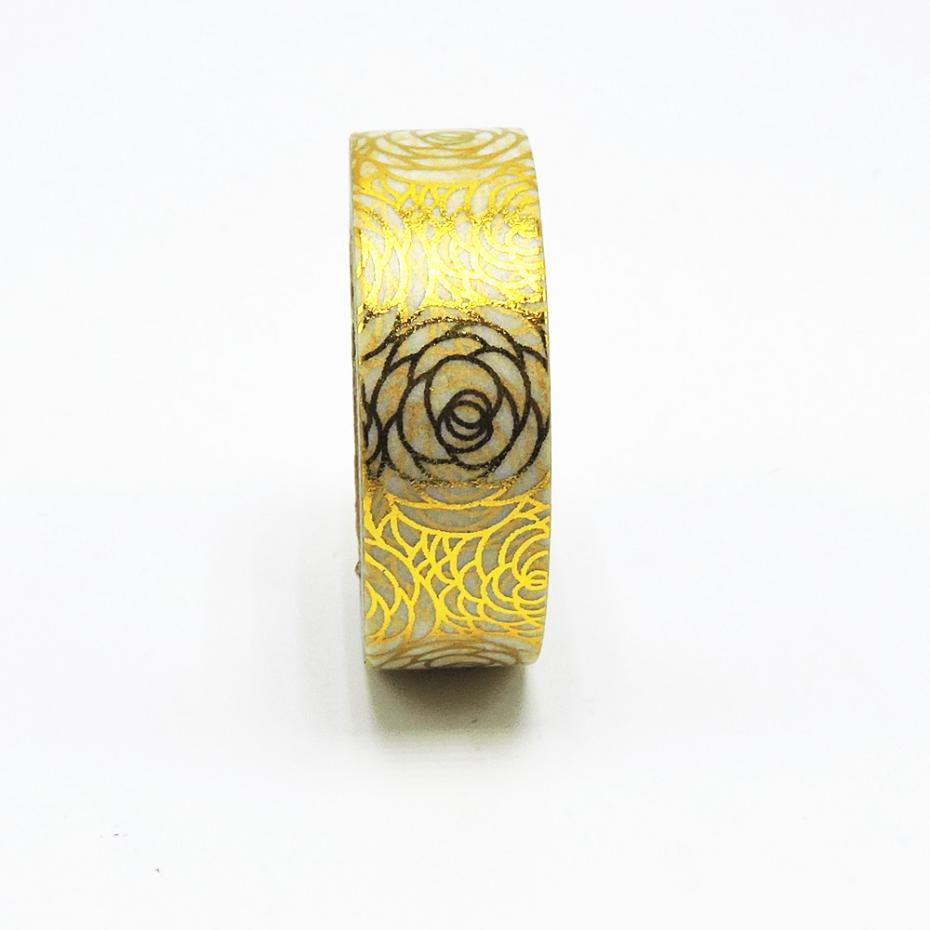 New Golden Follow Foil Washi Tape Office Adhesive Scrapbooking Tools Kawaii Cute Decorative Christmas Craft Gift Paper Crafts