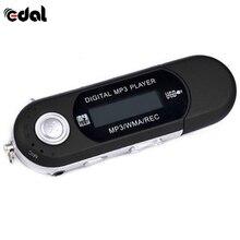 Портативный плеер мини USB флэш MP3-плеер ЖК-экран поддержка вспышки 32 Гб TF/SD слот для карт цифровой MP3 музыкальный плеер