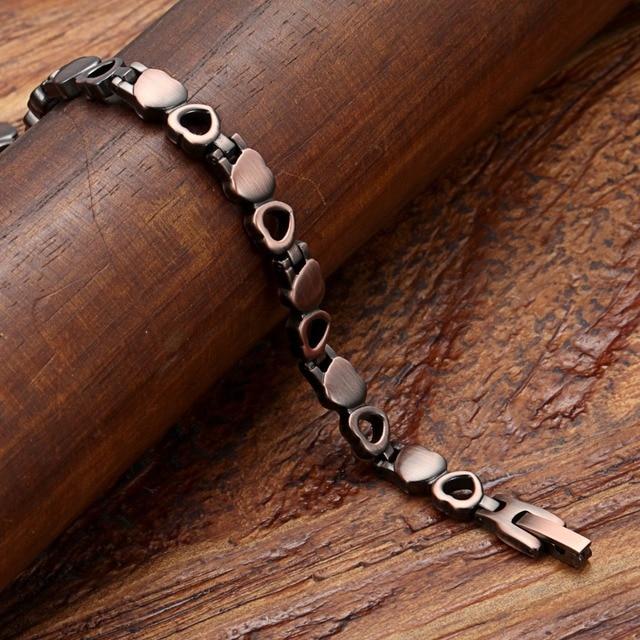 Купить браслеты welmag женские магнитные винтажные обручи из чистой