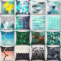 Funda de almohada geométrica bohemia de ZENGIA funda de cojín funda de almohada decorativa de otoño para sala de estar sofá coche almofada