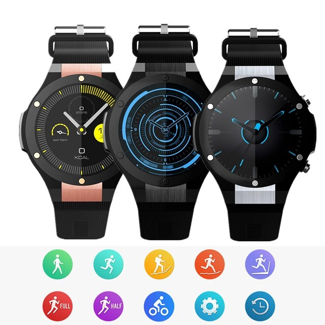 358e16515 Microwear H2 3G Smartwatch Phone 1.39 inch Android 5.0 MTK6580 1.0GHz Quad  Core 16GB ROM 5.0MP Camera Heart Rate Monitor GPS. Price