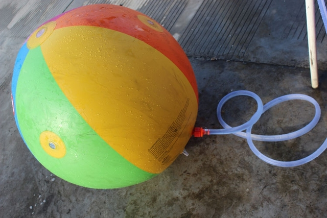 Giant Water Inflatable Beach Ball Sprinkler