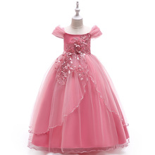 Princess Flower Girl Dresses 2019 Little Girl's Birthday Party Ball Gown Kids Wedding Pageant Communion Dresses real picture 2018 flower girl dresses purple sleeveless 3d applique kids formal wear princess pageant dresses birthday gown