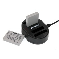 NB 4L Battery 1200mAh Dual USB Charger For Canon PowerShot SD1000 SD1100IS SD1400IS SD200 SD30 SD300