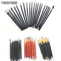 Hot Sale 20 Pieces Set Eye Shadow Brush Eye Brush Long Handle Makeup Brush Kit Opp