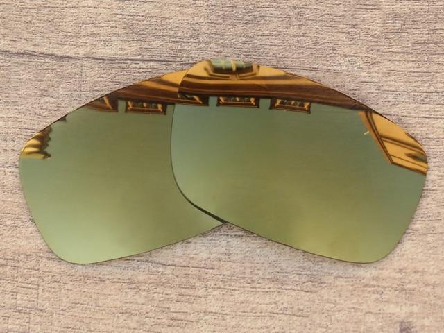 89e06eb834a Bronze Golden Mirror Polarized Replacement Lenses For Crankshaft Sunglasses  Frame 100% UVA   UVB Protection
