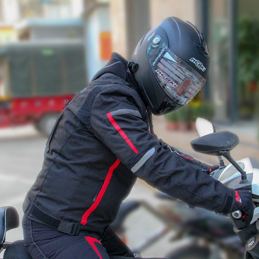 HEROBIKER otoño chaqueta de invierno de la motocicleta impermeable a prueba de viento chaqueta de montar de carreras de Moto ropa de protección - 6